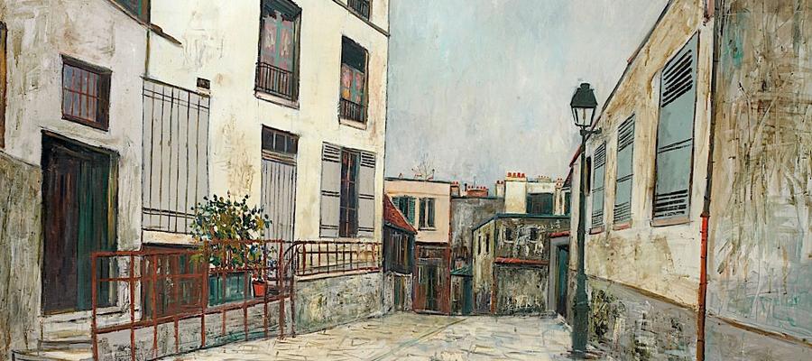 Maurice Utrillo les grandes galeries