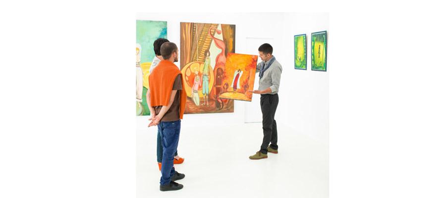 les galeries d'art